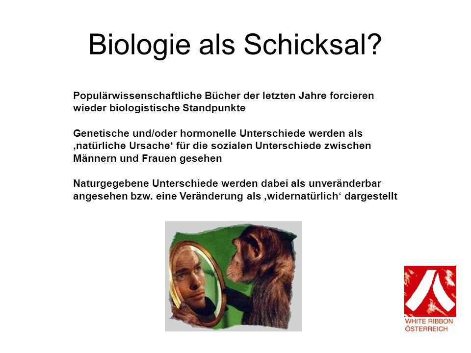 Biologie als Schicksal