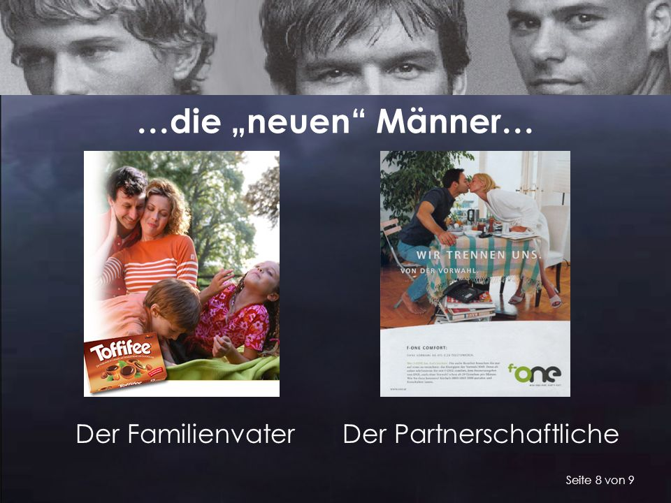 """…die """"neuen Männer… Der Familienvater Der Partnerschaftliche"""