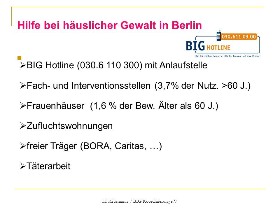 H. Krüsmann / BIG Koordinierung e.V.