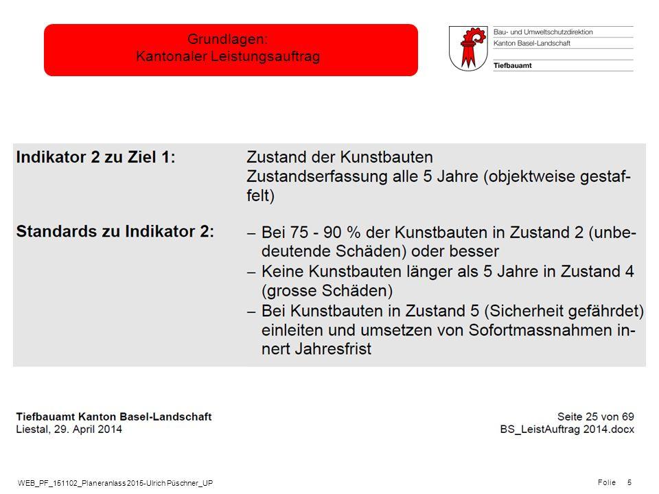 Grundlagen: Kantonaler Leistungsauftrag