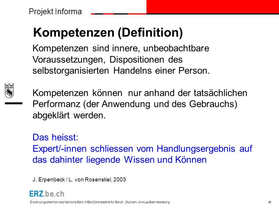 Kompetenzen (Definition)