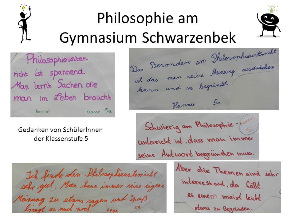 Philosophie am Gymnasium Schwarzenbek