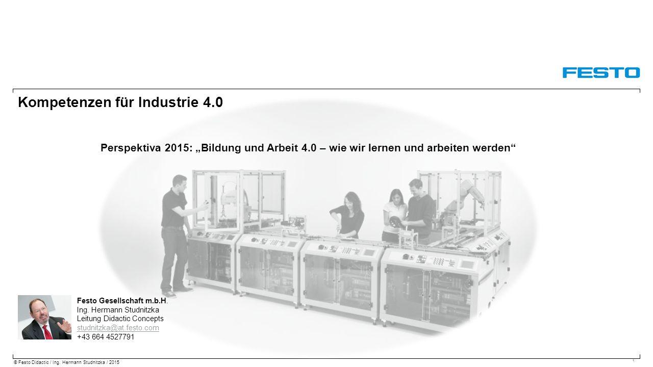 Kompetenzen für Industrie 4.0