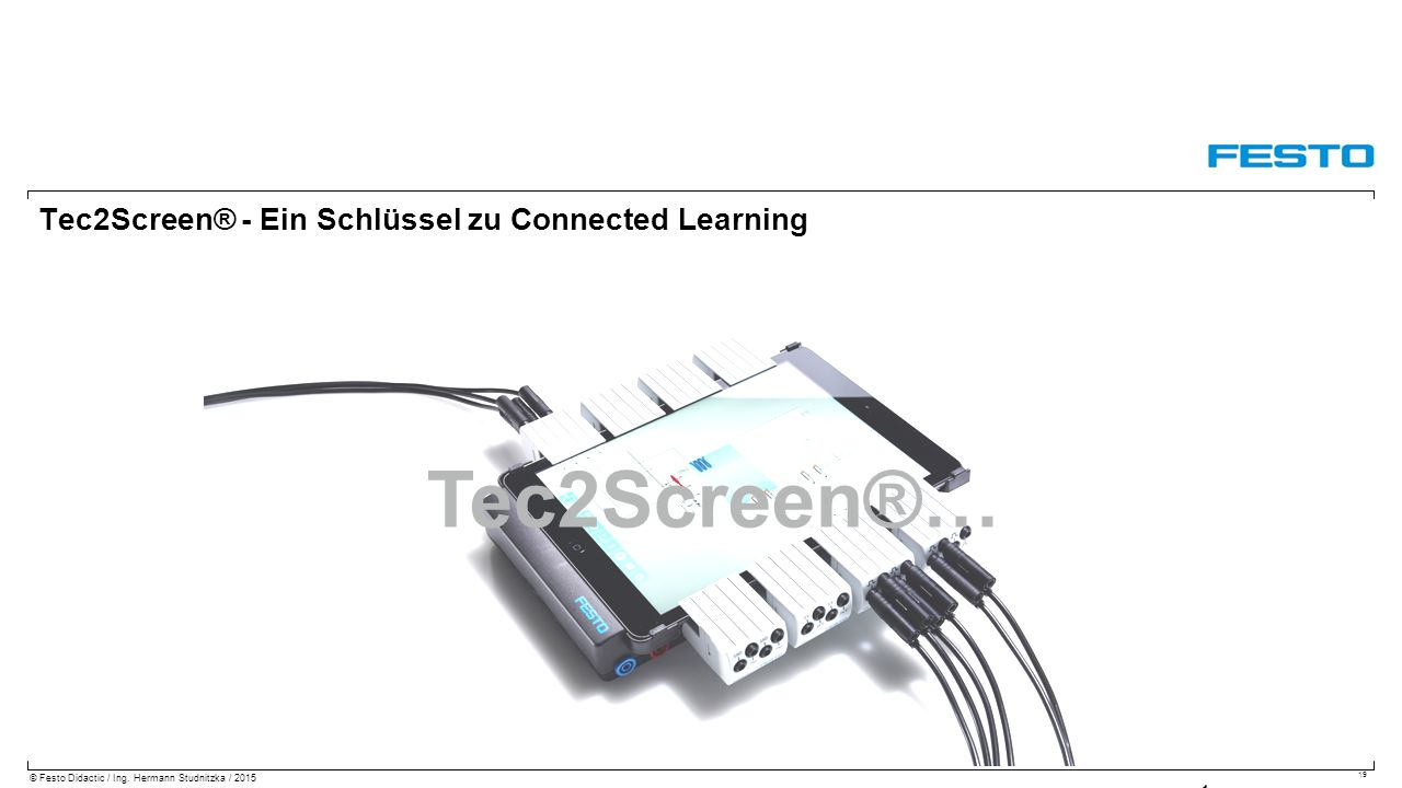Tec2Screen® - Ein Schlüssel zu Connected Learning