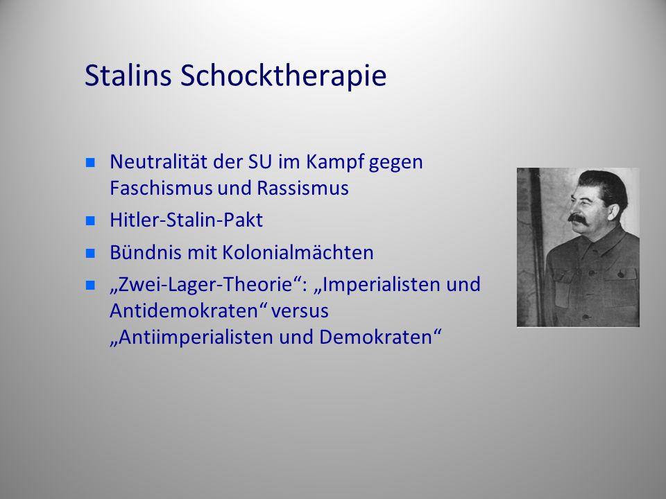 Stalins Schocktherapie