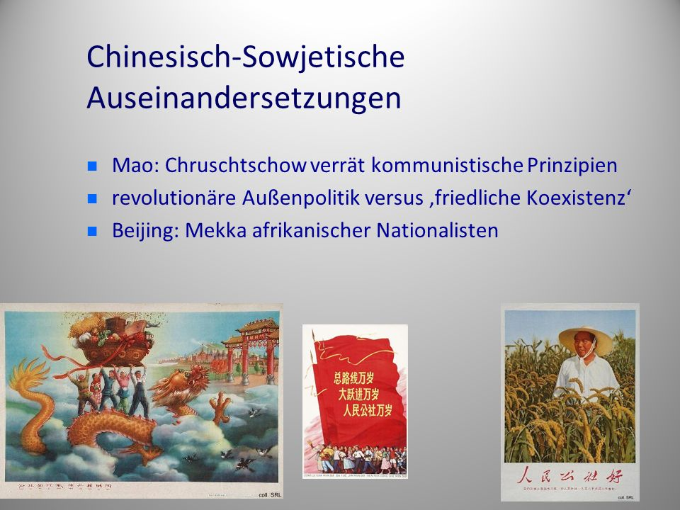 Chinesisch-Sowjetische Auseinandersetzungen