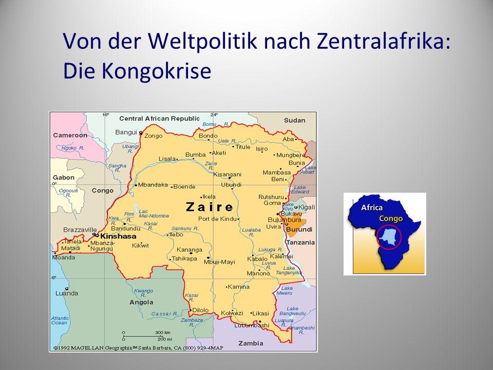 Von der Weltpolitik nach Zentralafrika: Die Kongokrise