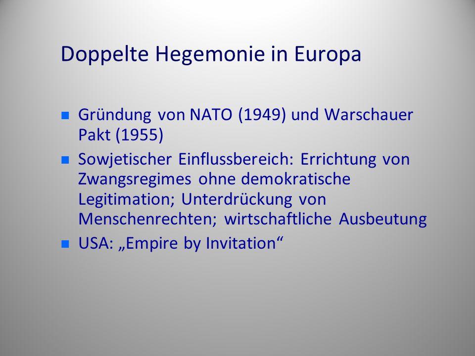 Doppelte Hegemonie in Europa