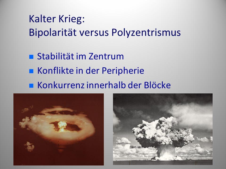 Kalter Krieg: Bipolarität versus Polyzentrismus