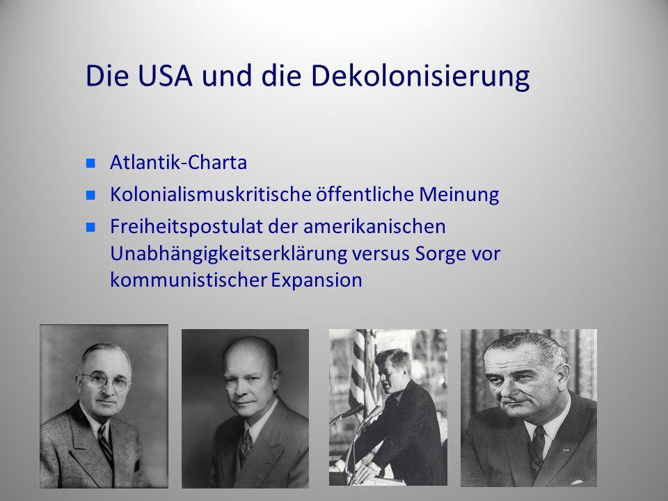 Die USA und die Dekolonisierung