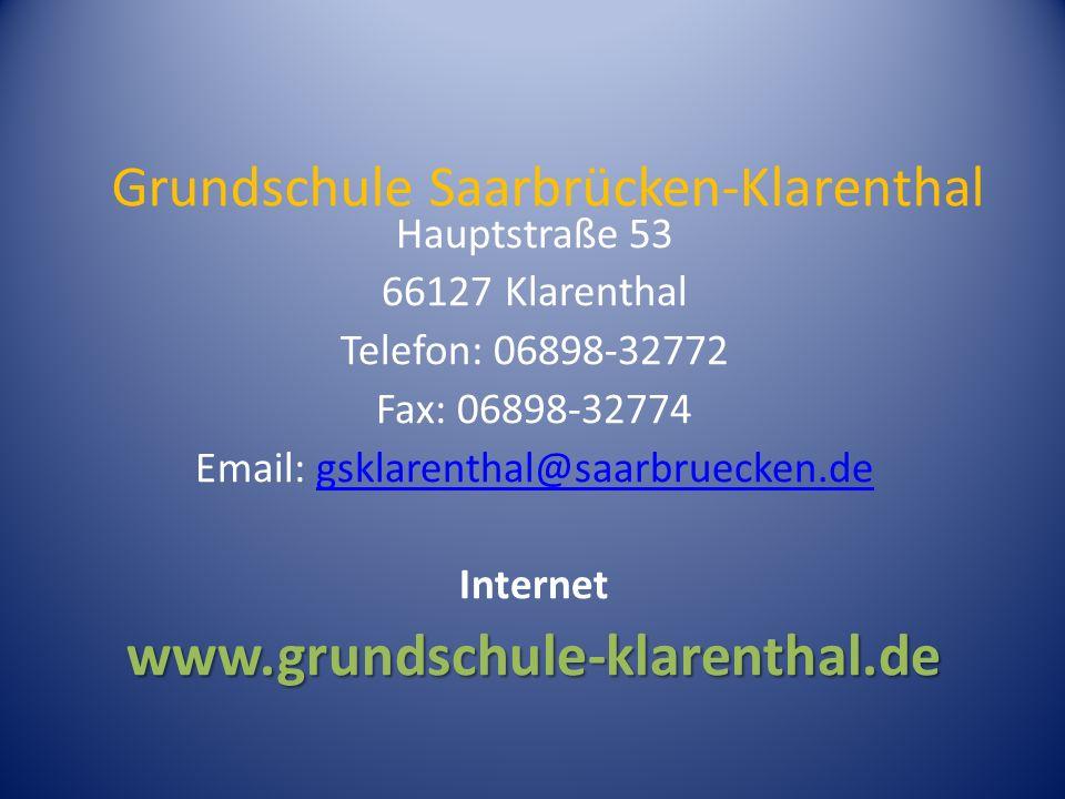 Grundschule Saarbrücken-Klarenthal