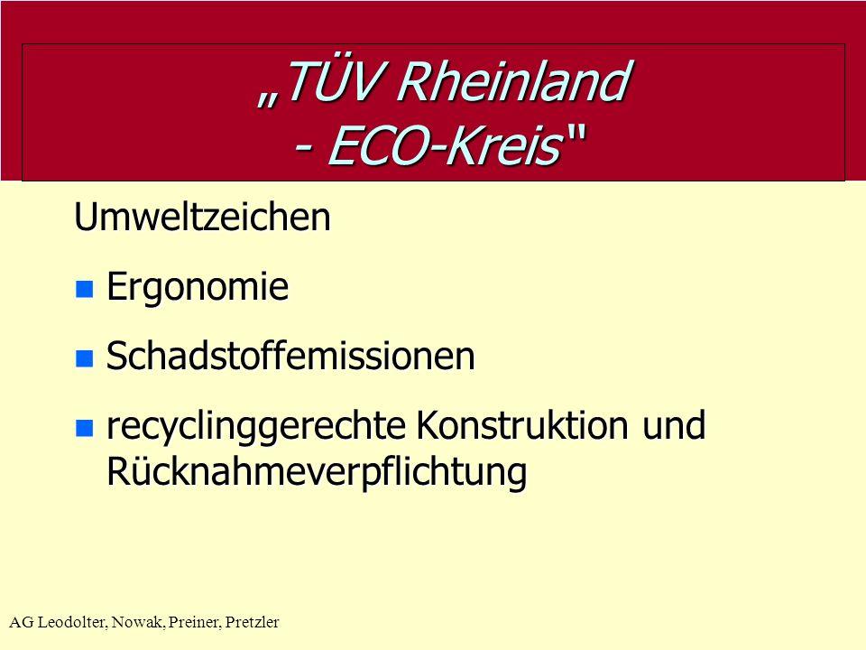 """TÜV Rheinland - ECO-Kreis"
