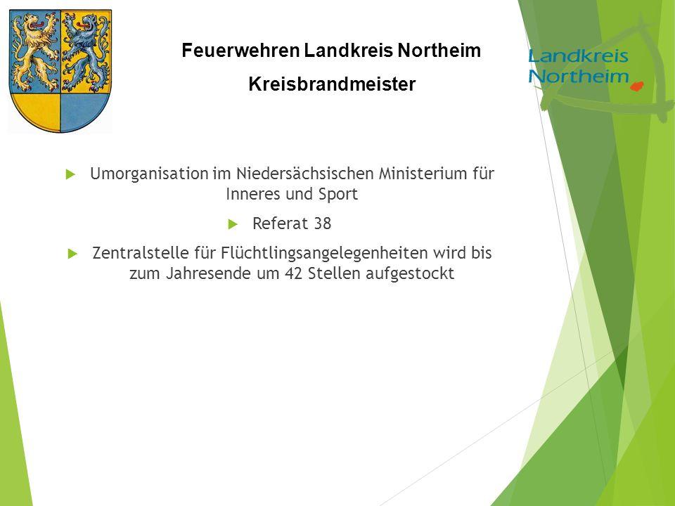 Umorganisation im Niedersächsischen Ministerium für Inneres und Sport