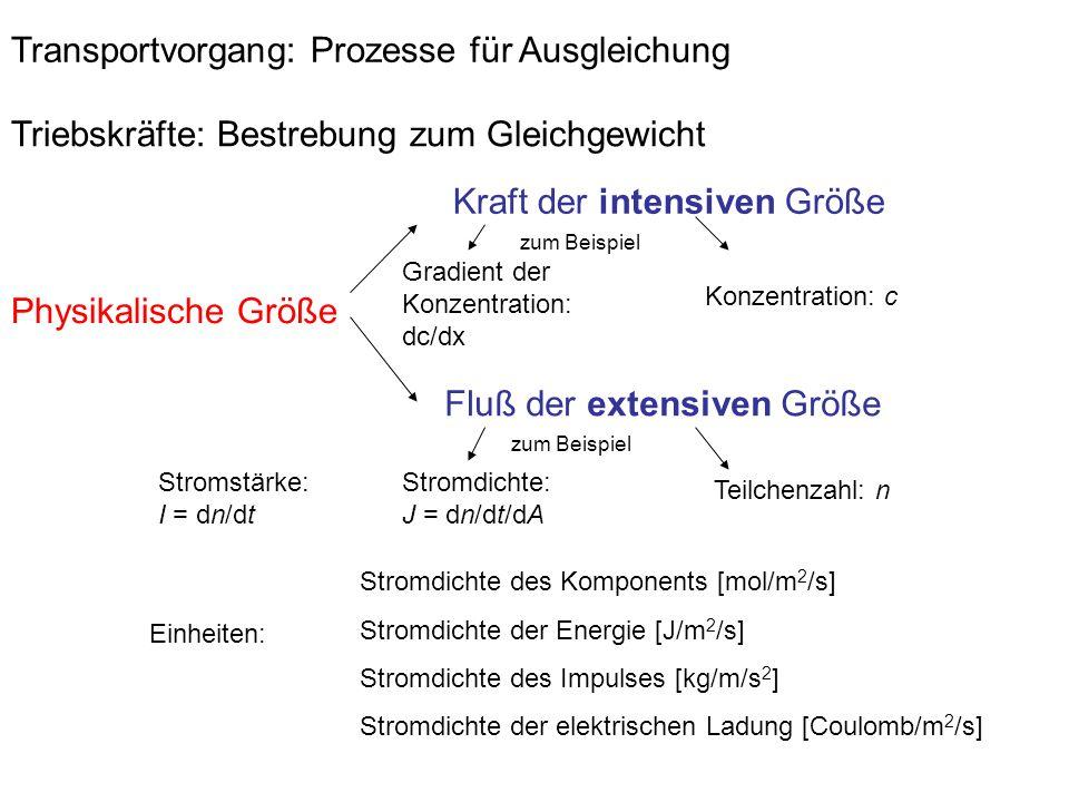 Transportvorgang: Prozesse für Ausgleichung