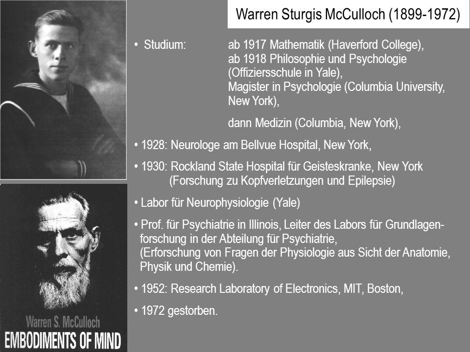 Warren Sturgis McCulloch (1899-1972)