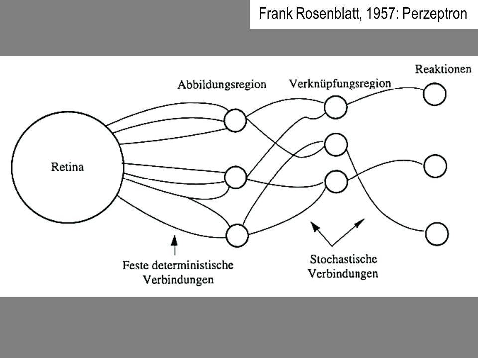 Frank Rosenblatt, 1957: Perzeptron