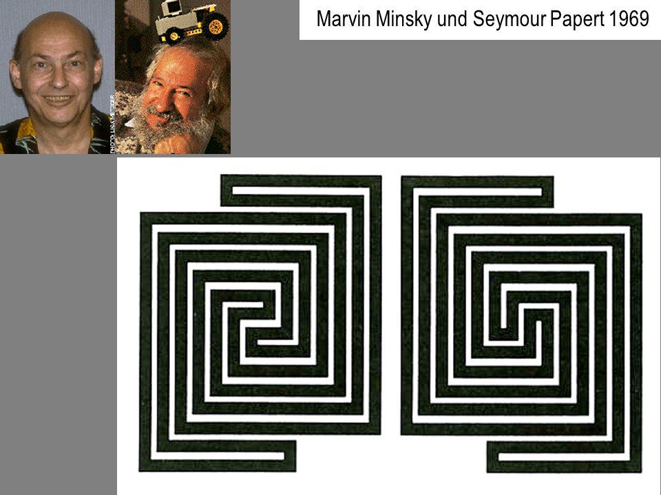 Marvin Minsky und Seymour Papert 1969