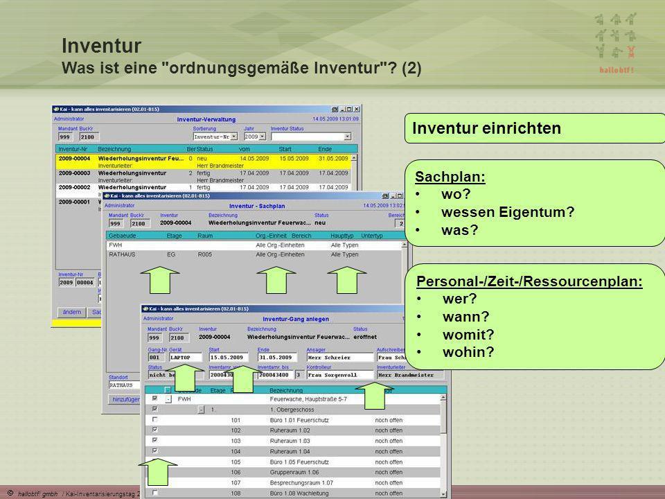 Inventur Was ist eine ordnungsgemäße Inventur (2)