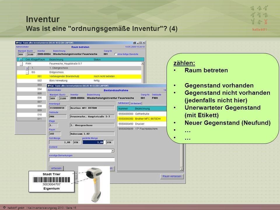 Inventur Was ist eine ordnungsgemäße Inventur (4)