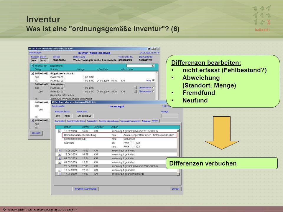 Inventur Was ist eine ordnungsgemäße Inventur (6)