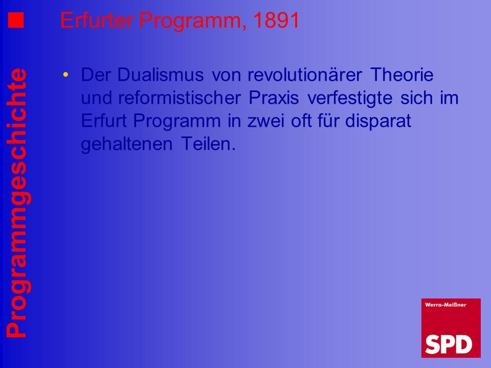 Erfurter Programm, 1891
