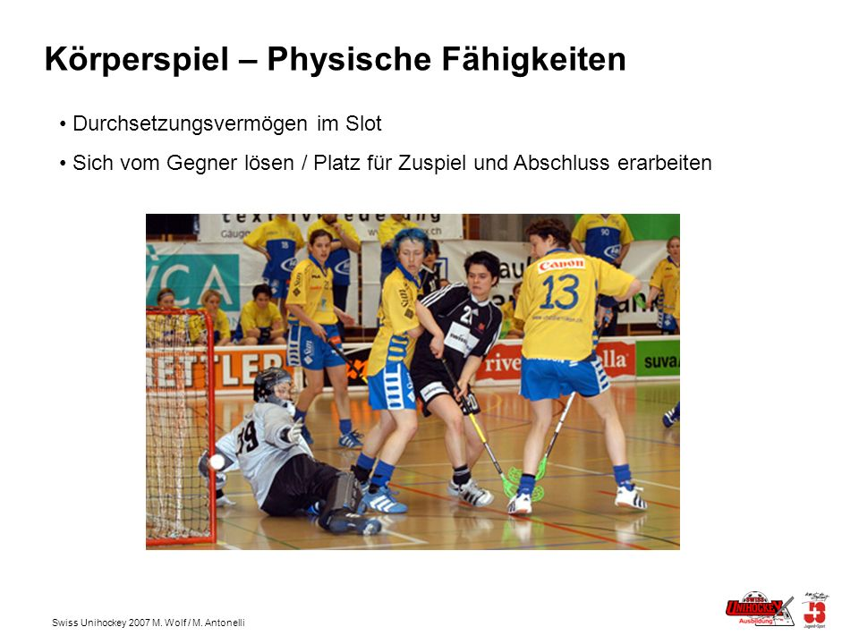 Körperspiel – Physische Fähigkeiten