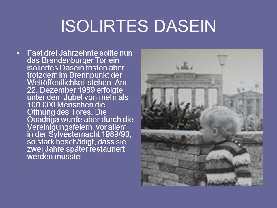 ISOLIRTES DASEIN