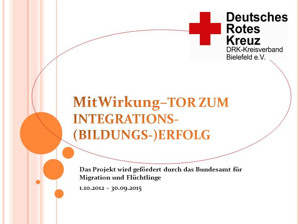 MitWirkung–TOR ZUM INTEGRATIONS-(BILDUNGS-)ERFOLG