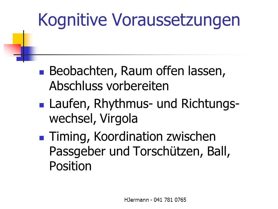 Kognitive Voraussetzungen