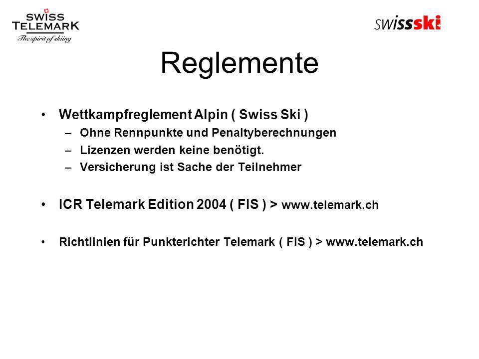 Reglemente Wettkampfreglement Alpin ( Swiss Ski )