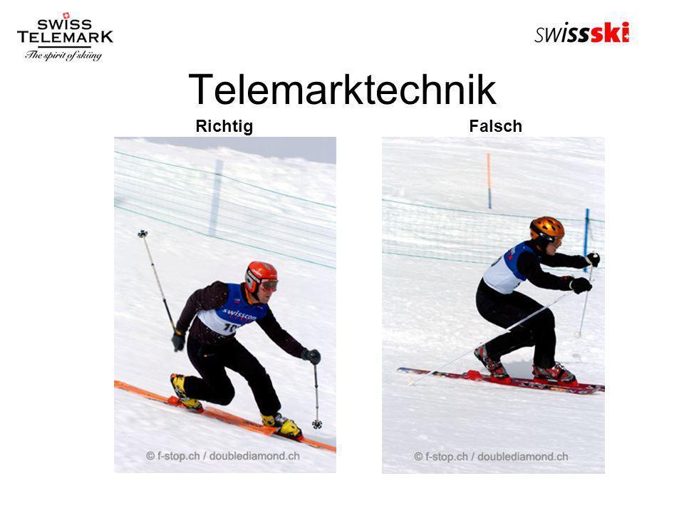 KWO Arbeitstagung 22.10.2005 Telemarktechnik Richtig Falsch
