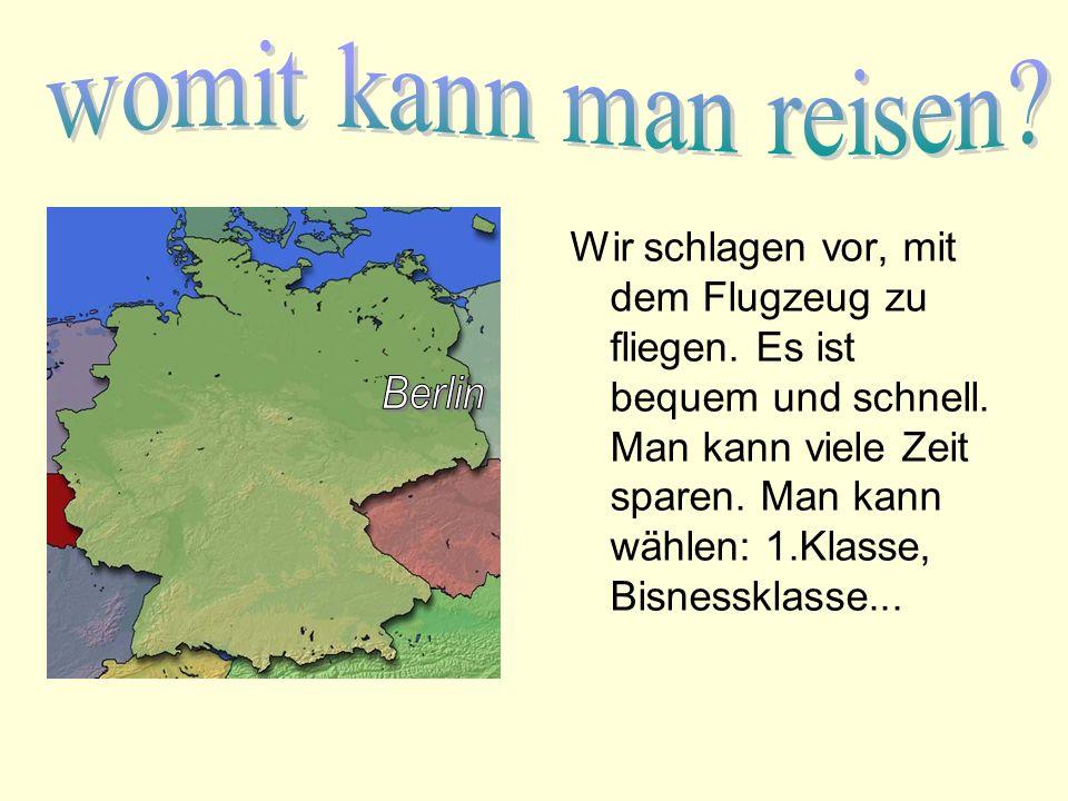 klasse reisen berlin