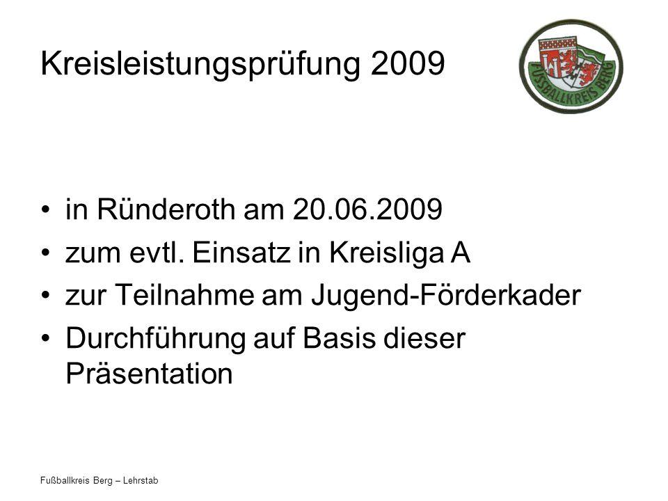 Kreisleistungsprüfung 2009