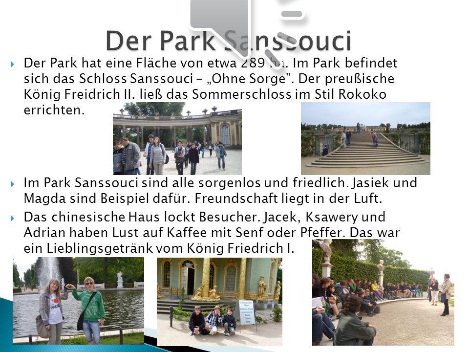 Der Park Sanssouci
