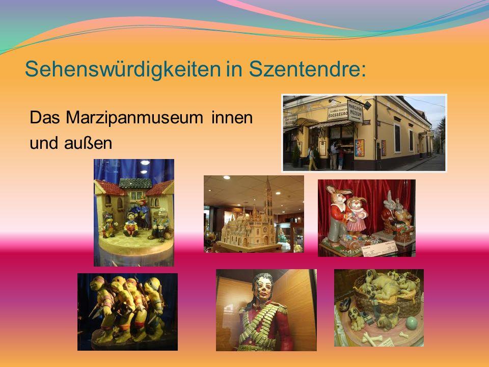 Sehenswürdigkeiten in Szentendre:
