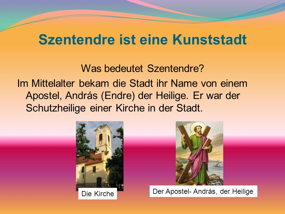 Szentendre ist eine Kunststadt