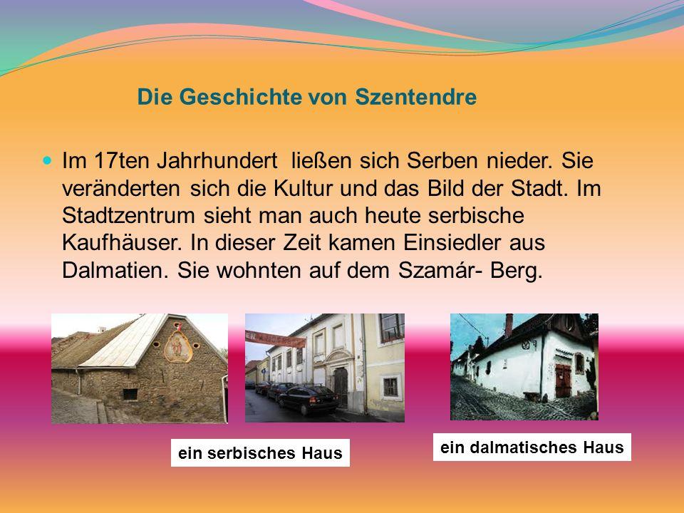 Die Geschichte von Szentendre