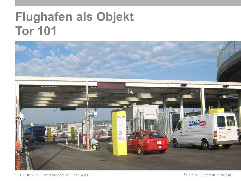 Flughafen als Objekt Tor 101