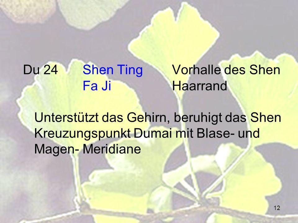 Du 24. Shen Ting. Vorhalle des Shen. Fa Ji
