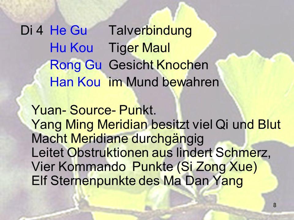Di 4 He Gu Talverbindung Hu Kou Tiger Maul. Rong Gu Gesicht Knochen.