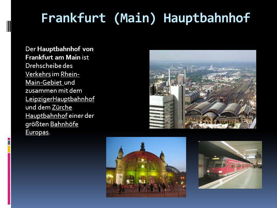 Frankfurt (Main) Hauptbahnhof