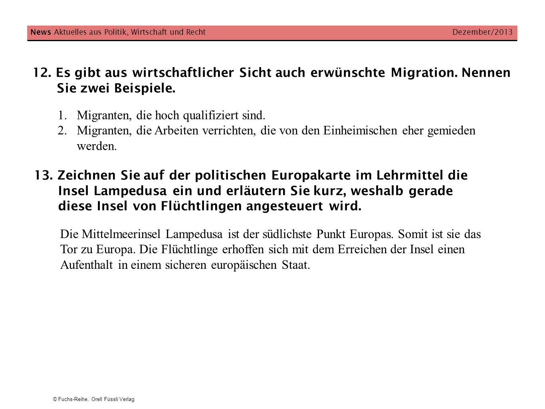Migranten, die hoch qualifiziert sind.