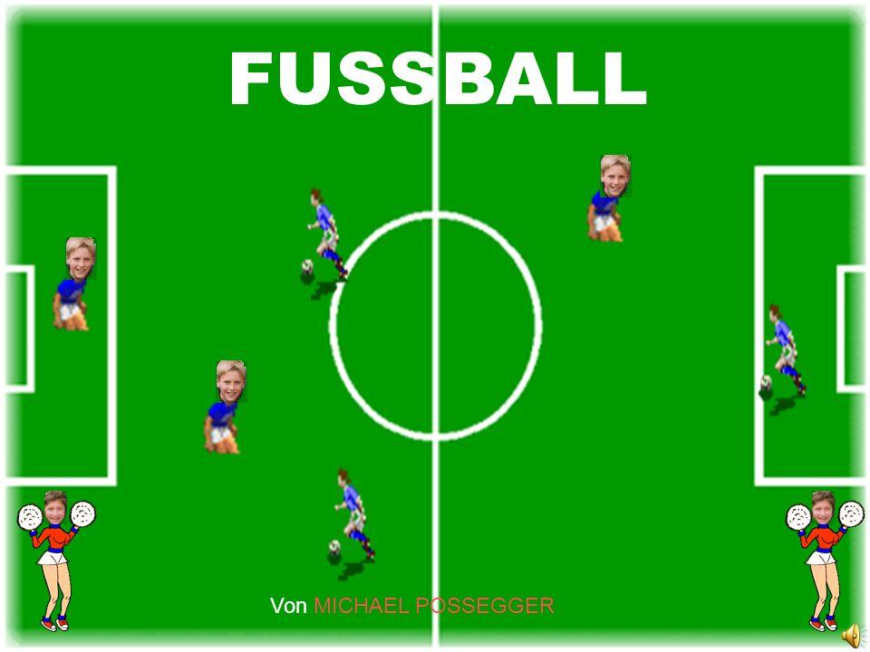 FUSSBALL FUSSBALL Von MICHAEL POSSEGGER Von MICHAEL POSSEGGER