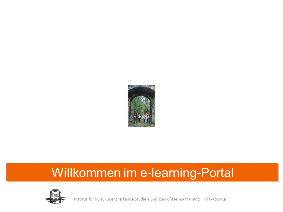 Willkommen im e-learning-Portal