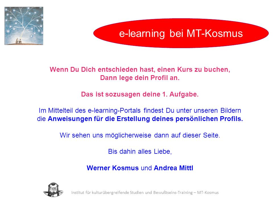 e-learning bei MT-Kosmus
