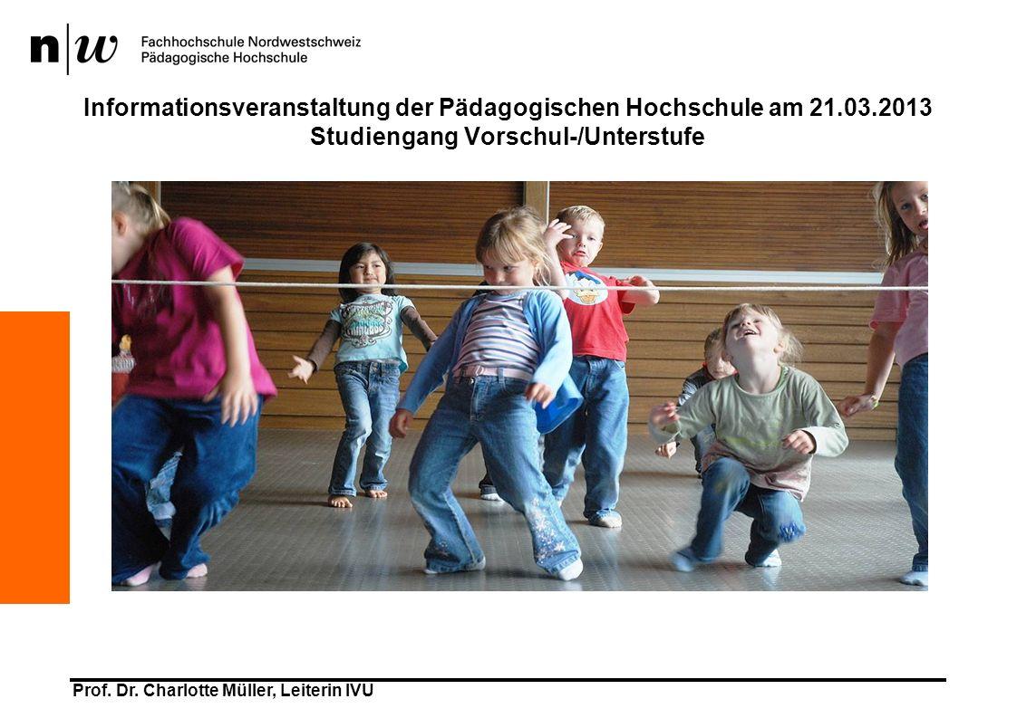 Informationsveranstaltung der Pädagogischen Hochschule am 21. 03