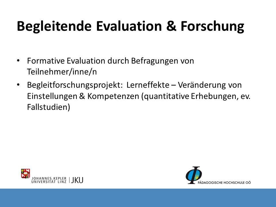 Begleitende Evaluation & Forschung