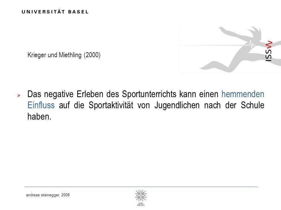 Krieger und Miethling (2000)