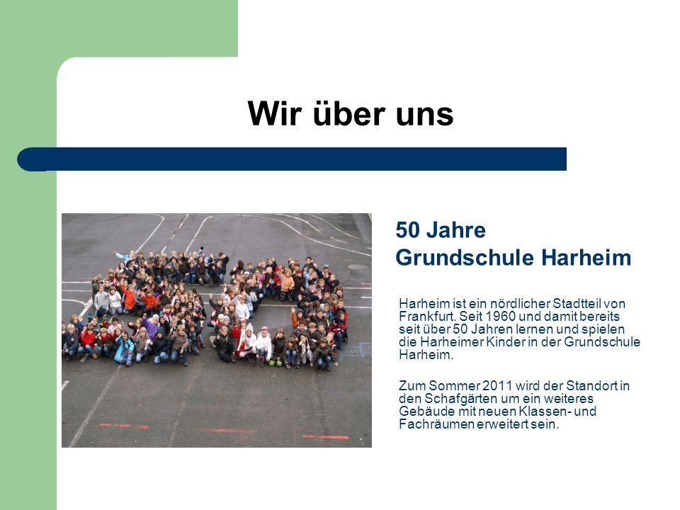 Wir über uns 50 Jahre Grundschule Harheim