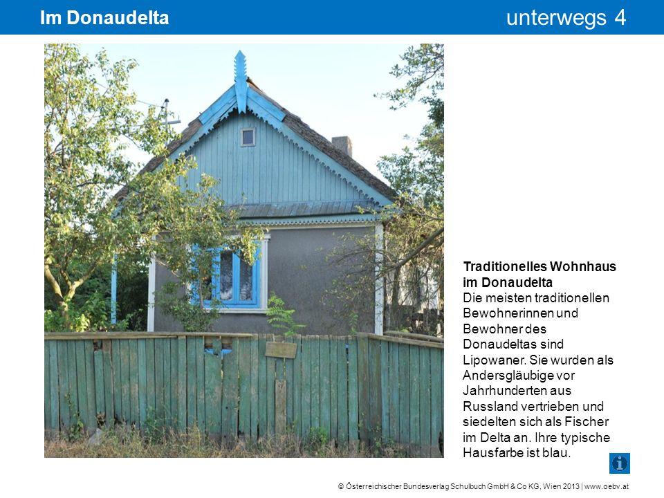 Im Donaudelta Traditionelles Wohnhaus im Donaudelta